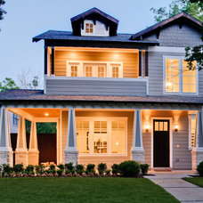 Contemporary Exterior by Rosewood Custom Builders