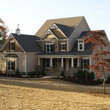 Traditional Exterior by Kearey Builders