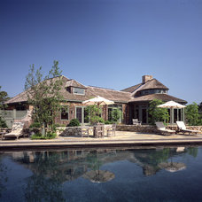 Traditional Exterior by GIL WALSH INTERIORS
