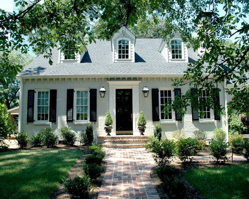 Painted Brick Exterior Home Design Ideas, Pictures
