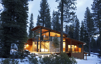 Houzz Tour: Cozy Mountain Retreat Near Lake Tahoe