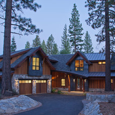 Contemporary Exterior by Kelly and Stone Architects - Tahoe