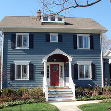 Traditional Exterior by Siding & Windows Group Ltd