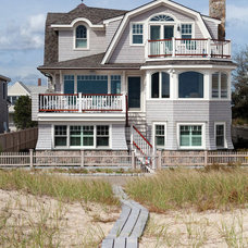 Beach Style Exterior by Selectwood Marvin Showcase