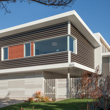 Contemporary Exterior by Proto Homes / Group F Builders, Inc