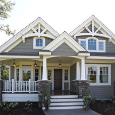 Traditional Exterior by Architects Northwest/CornerStone Designs