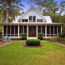 Traditional Exterior by Yestermorrow Homebuilders
