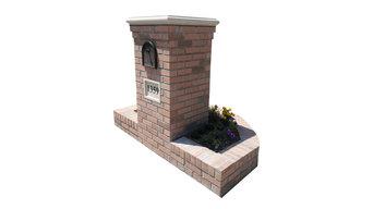 Masonry Brick Mailbox