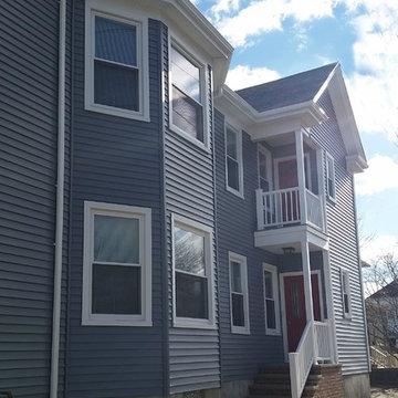Mastic Vinyl Siding, AZEK decking, Harvey windows New Bedford, MA