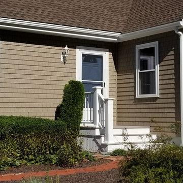 Mastic Vinyl Siding, GAF Roofing, Harvey Windows, AZEK Decking, New Bedford, MA