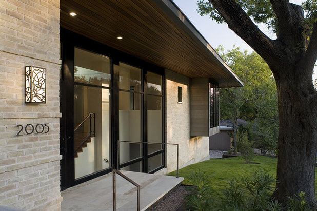 Modern Exterior by Hugh Jefferson Randolph Architects