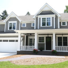Beach Style Exterior by Matthies Builders
