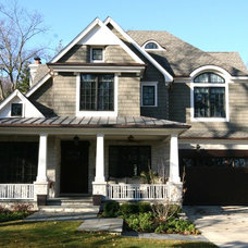 Traditional Exterior by Matthies Builders