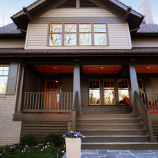 Craftsman Exterior by Rill Architects