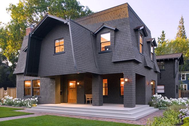 Mansard roof for Modern mansard roof