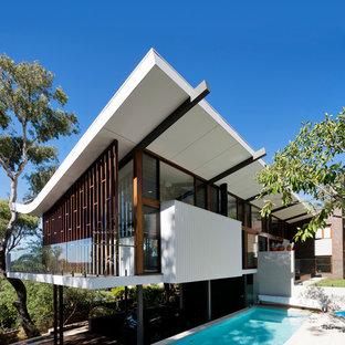 75 Most Popular Midcentury Modern Perth Exterior Home Design