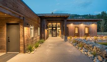 Mazama Meadow Residence, Firewise Design.  Mazama WA