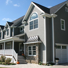 Traditional Exterior by Bay Area Design of the Berkshires