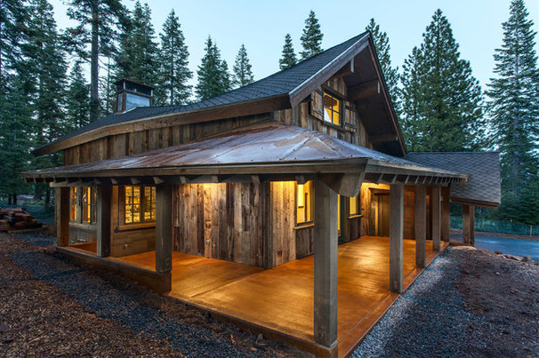 Eclectic Exterior by Mountain Concepts