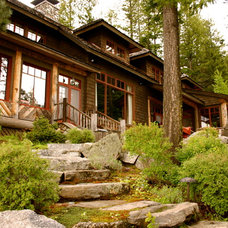 Traditional Exterior by McCall Design & Planning