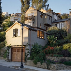 Traditional Exterior by Trachtenberg Architects