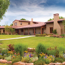 Mediterranean Exterior by McDowell Construction