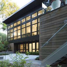 Modern Exterior by McIntosh Poris Associates