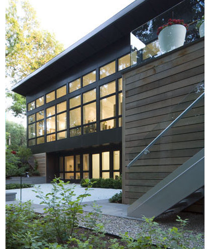 Modern Exterior by McIntosh Poris Associates