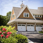 Cape Cod Shingle Style Home Traditional Exterior