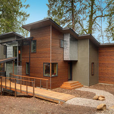 Contemporary Exterior by Six Degrees Construction