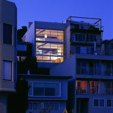 Modern Exterior by Mark English Architects, AIA
