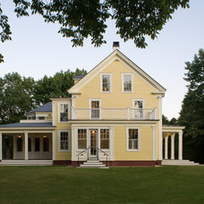 Farmhouse Exterior by Fiorentino Group Architects
