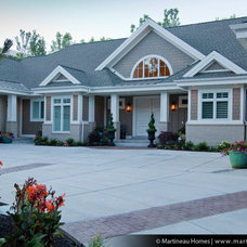 Traditional Exterior by Martineau Homes