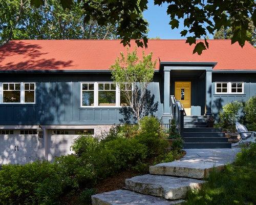 12 scandinavian blue exterior home design ideas remodel for Scandinavian style homes exterior