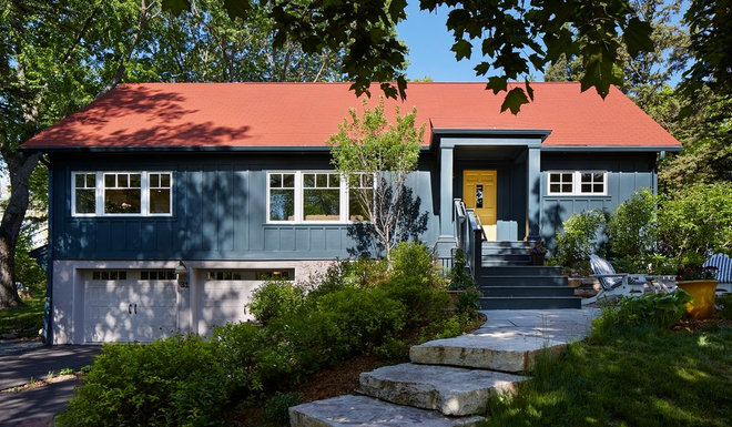 Scandinavian Exterior by Meriwether Inc
