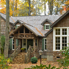 Traditional Exterior by Bark House