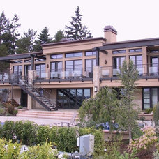 Modern Exterior by Cornerstone Constructors, LLC