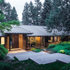 Contemporary Exterior by Graham Baba Architects