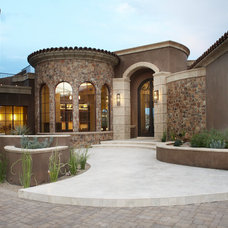 Mediterranean Exterior by Soloway Designs Inc | Architecture + Interiors
