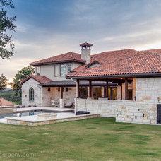 Mediterranean Exterior by Travis Creek Homes, LLC