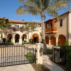 Mediterranean Exterior by Robelen Hanna Homes - Luxury Homes & Remodeling