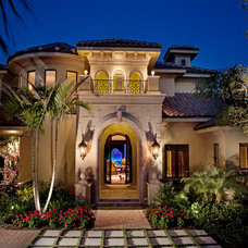 Mediterranean Exterior by Weber Design Group, Inc.