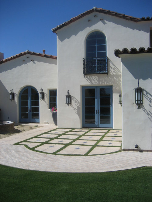 Awesome Tuscan Two Story Exterior Home Photo In Phoenix