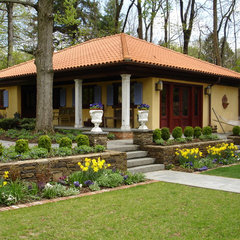 traditional exterior by Deborah Cerbone Associates, Inc.