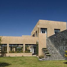 Mediterranean Exterior by David Howell Design
