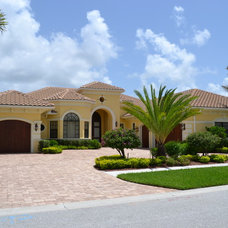 Mediterranean Exterior by Dreamstar Custom Homes