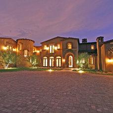 Mediterranean Exterior by Fratantoni Luxury Estates