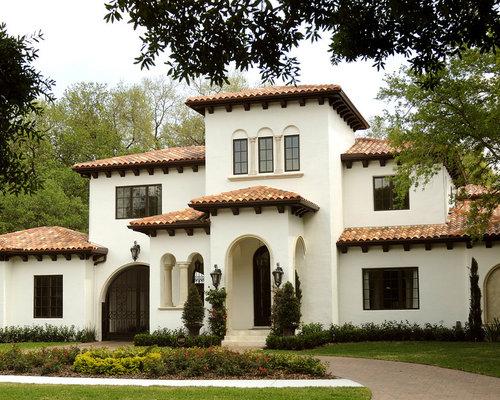 Best Mediterranean Exterior Home Design Ideas & Remodel