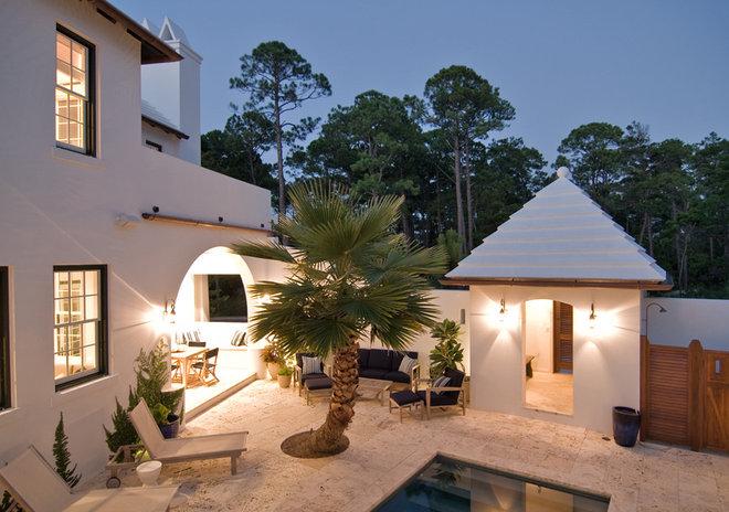 Mediterranean Exterior by Dungan Nequette Architects