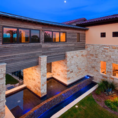 contemporary exterior by Jenkins Custom Homes